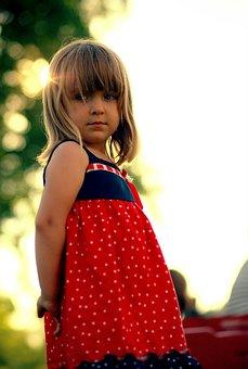 Girl, Caucasian, White, Person, One, Innocence, Color