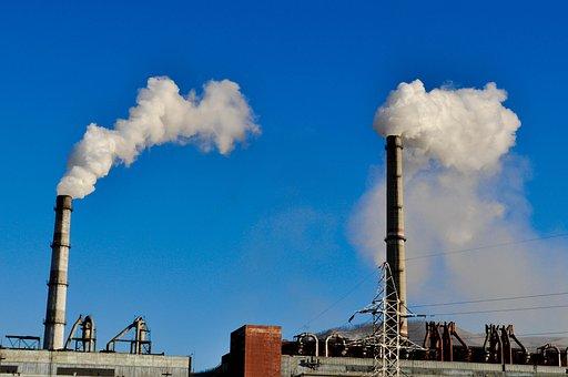 Smoke, Pipe, Power Plant, Coal, Electric, Power