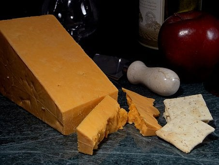 Leicester Cheese, Milk Product, Food, Ingredient, Eat