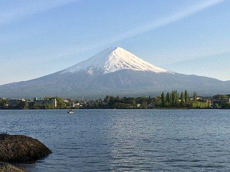 Japan, Mount Fuji, Mountain