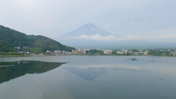 Japan, Mount Fuji, Tourism