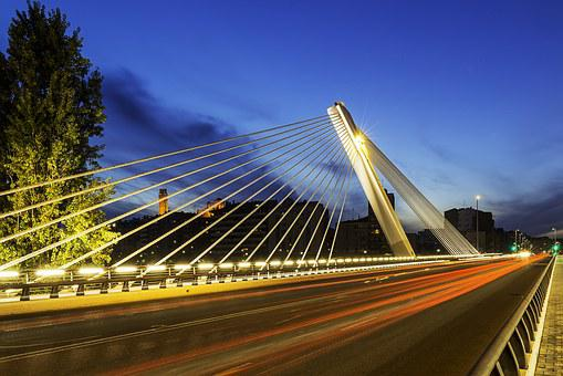 Bridge, Lleida, City