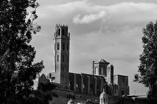 The Seu Vella, Cathedral, Lleida, Romanesque, Gothic