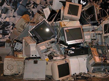 Computers, Monitors, Equipment, Cables, Pc, Monitor