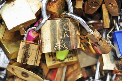 Paris, Bridge, Seine, Padlock, Pont Des Arts, Monument