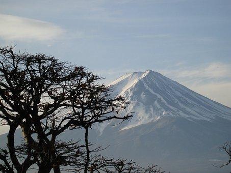 Mount Fuji, Mountain, Japan, Honshu, Island
