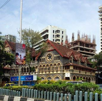 Mumbai, India, Church, Modern Building, High-rise