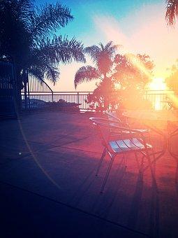 Sunset, San Diego, California, Ocean, Beach, Sky