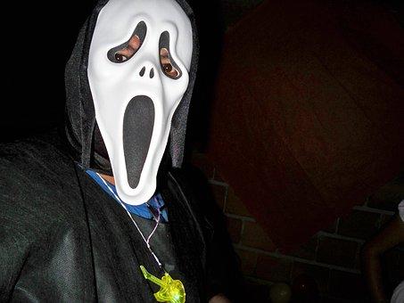Serial Killer, Scream, Movie, Panic, Party, Fantasy