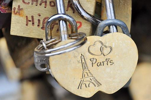 Paris, Bridge, Seine, Padlock, Pont Des Arts, Monument