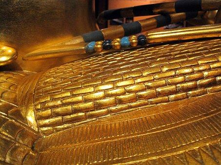Tutankhamun, Sarcophagus, Treasure, Display, Riches