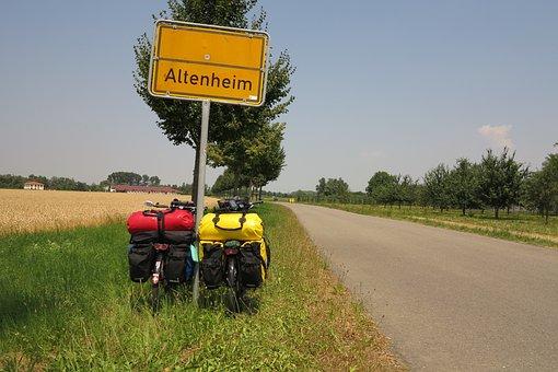 Travel, Bike, Touring Bike, Road, Bicycle Tour