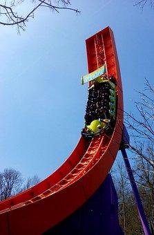 Coaster, Thrill, Fun, Joy, Laugh, Speed, Rollercoaster