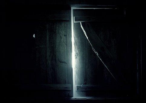 Dark, Window, Shine, Light, Room, Dark Room, Glow