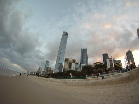 Gold Coast, Architecture, Skyline, City, Tower