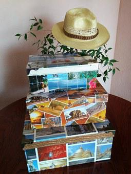 Boxes, Travel, Hat