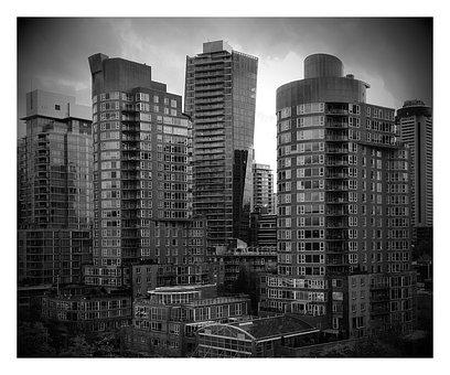 Coal Harbour, Vancouver, British Columbia, Buildings