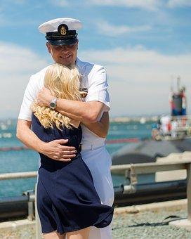 Veterans, Navy, Deployment, Home, Military, Honor