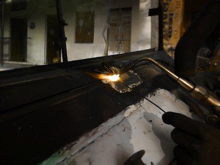 Fire, Industrial, Repairing, Welding