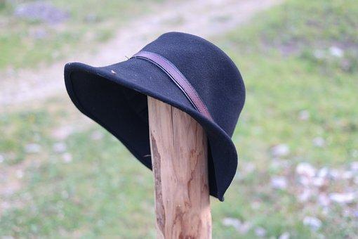 Hat, Hiking Hat, Fedora, Filzwollhut, Alps Filzwollhut
