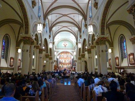 Cathedral Of Basilica, Church, Religion, Architecture