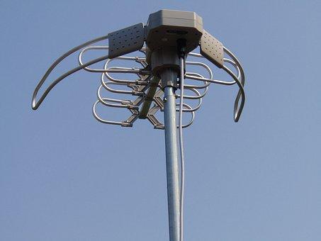 Antenna, Uhf, Vhf, Sky, Television, Signal, Broadcast
