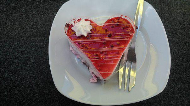 Recreation, Dessert, Love, Cake, Heart, Jelly