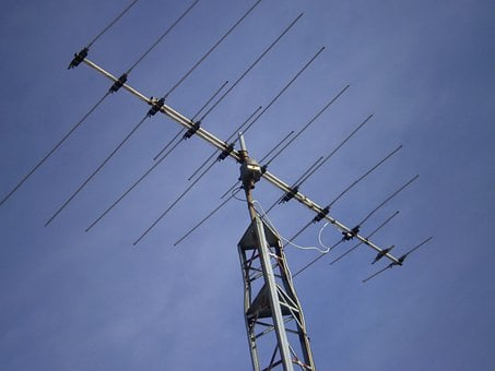 Antenna, Television, Tv, Aerial, Communication, Retro