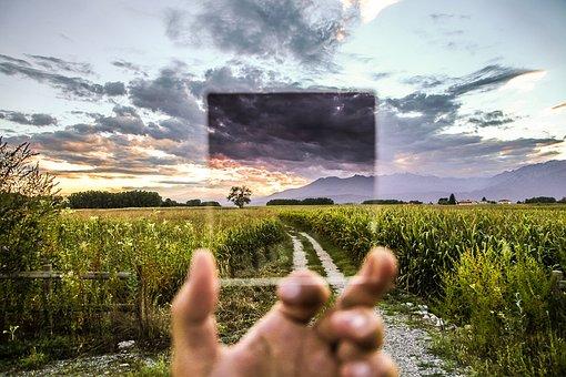 Filter, Photo Effect, Glass, Transparent, Landscape