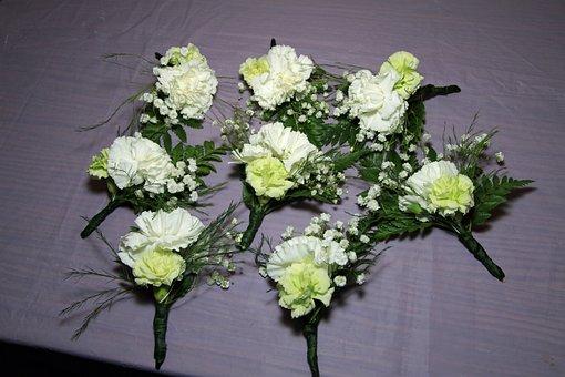 Boutonniere, Wedding, Flowers, Floral, Decoration