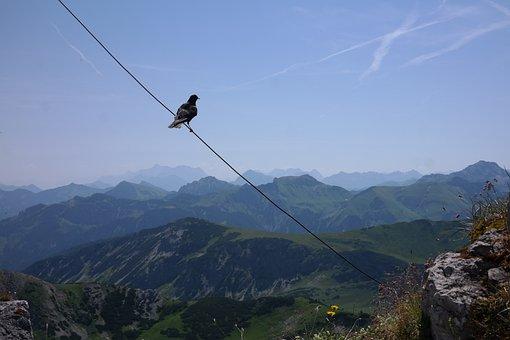Ponten, Summit, Jackdaw, Outlook, Panorama, Mountain