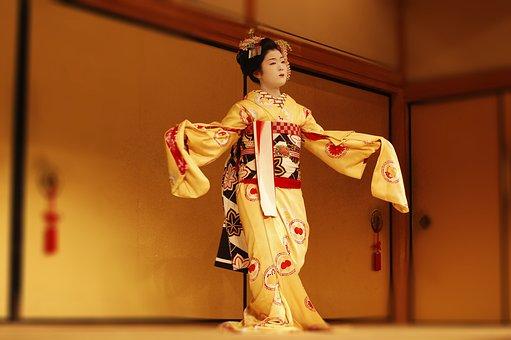 Japan, Gueisha, Theatre, Kabuki, Kimono, Scenario
