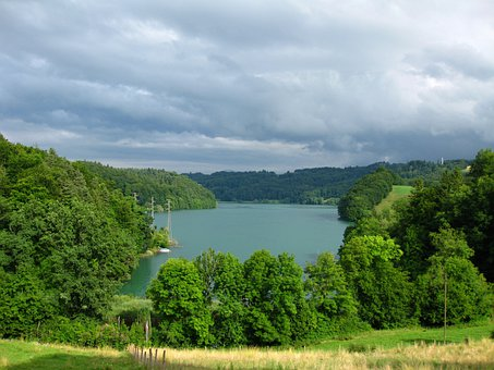 Lake, Water, Switzerland, Landscape, Waters