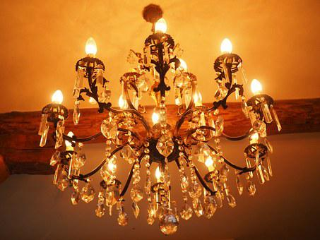 Candlestick, Chandelier, Lamp, Lighting, Light