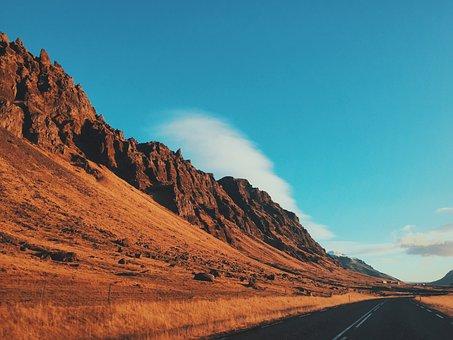 Arid, Barren, Desert, Hill, Landscape, Mountain, Nature