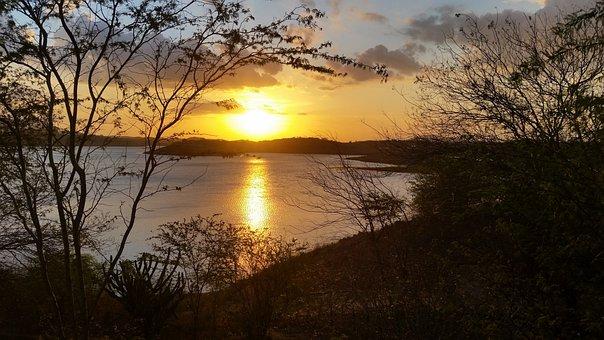 Sol, Sunset, Horizon, Ceu, Nature, Landscape