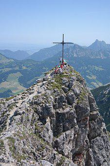 Palma, Summit, Summit Cross, Mountain, Allgäu Alps
