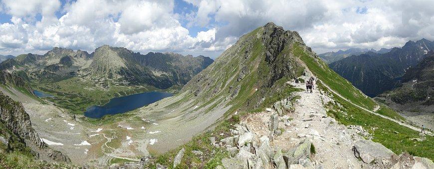 Tatry, Mountains, Panorama, The High Tatras, Landscape