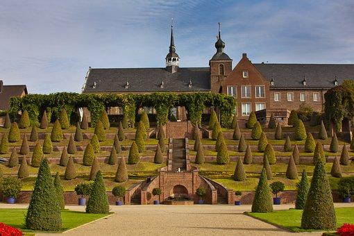 Castle, Schlossgarten, Park, Castle Park