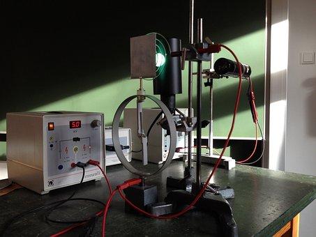 Physics, Photo Effect, Mercury Vapor Lamp