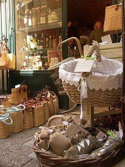 úzes, Southern France, Provence, Market, Herbs, Cart