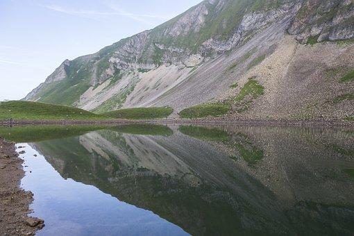 Red Horn, Brienzerrothorn, Bergsee, Mountains, Alpine