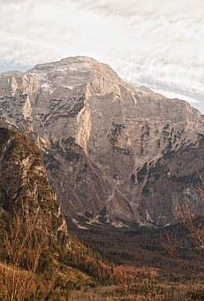 Grünau, Autumn, Rotgschirr, Totes Mountains, Alpine