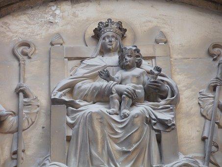 Saint Théodorit Cathedral, Facade, Uzès, Monuments
