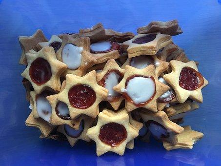 Cookies, Storage Jar, Christmas Baking, Small Cakes