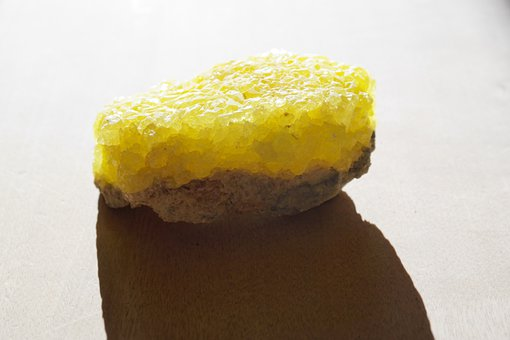 Stone, Sulfur, Crystal, Sulfur Crystals, Yellow, Gem
