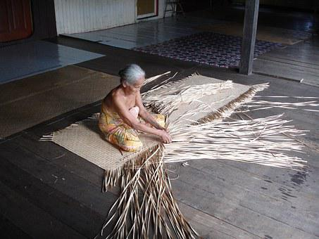 Borneo, Longhouse, Malaysia, Tradition, Sarawak, Native