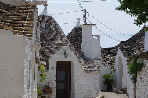 Alberobello, Puglia, Trulli, Apulia, Historical Centre