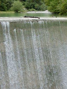 Weir, Water Power, Power Plant, Energy Generation, Dam
