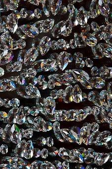 Abstract, Background, Black, Crystal, Diamond